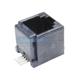 سوکت تلفنی روبردی SMD 6P4C
